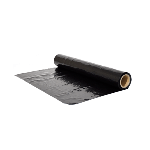 POLLO พลาสติกคลุมเห็ด0.05mm.x1.5m.x40m.สีดำ NYC-HLK005-40 สีดำ