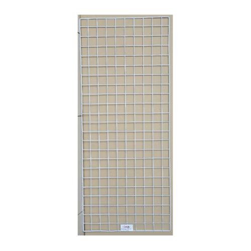 Delicato  ตะแกรงชุบ  ขนาด40x100x1ซม. สีขาว