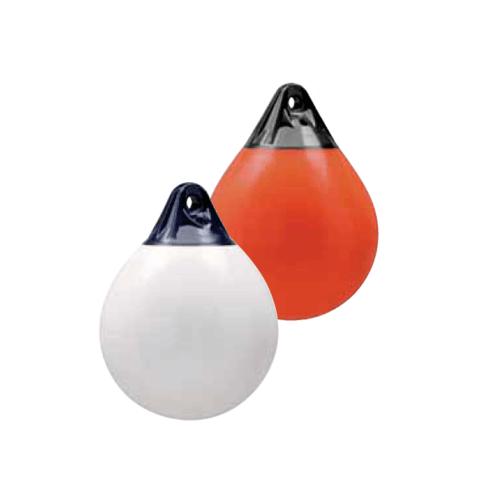 EVAL  ลูกยางกันกระแทกข้างเรือ ทรงกลม 50x39cm  รุ่น A-2 สีส้ม-น้ำเงิน สีส้ม