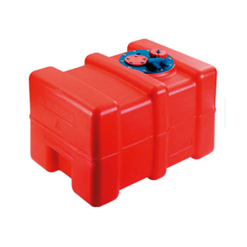 EVAL ถังนำมันขนาด 42 ลิตร 00823-40 สีแดง