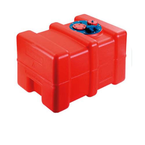 EVAL  ถังบรรจุน้ำมันขนาด 55 ลิตร L65xW35xH30cm   00823-51 สีแดง