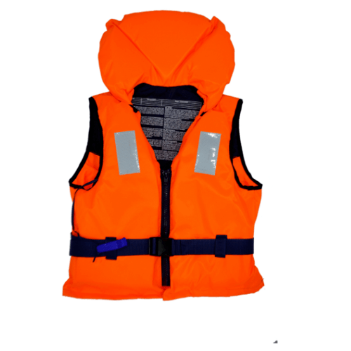 EVAL  เสื้อชูชีพรับน้ำหนัก 70-90 Kg EN ISO 12402-4   00495-5 สีส้ม-ดำ สีส้ม