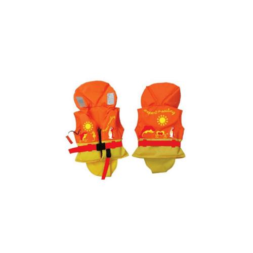 EVAL  เสื้อชูชีพเด็ก รับน้ำหนักได้ 15-30 kg  00498-1  สีส้ม