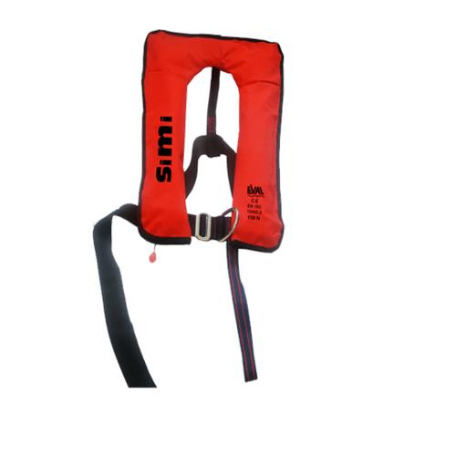 EVAL เสื้อชูชีพแบบพองลม ระบบ Auto สีแดง Buckle Plastic PN: 04326-6 04326-6 สีแดง