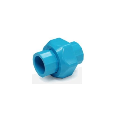 SCG ข้อต่อยูเนี่ยนสวมท่อ-หนา  1 นิ้ว สีฟ้า