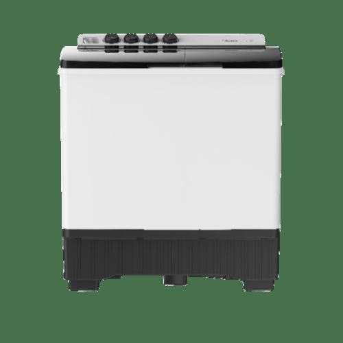 MIDEA เครื่องซักผ้า 2 ถัง 15 kg. MT100W150 สีขาว