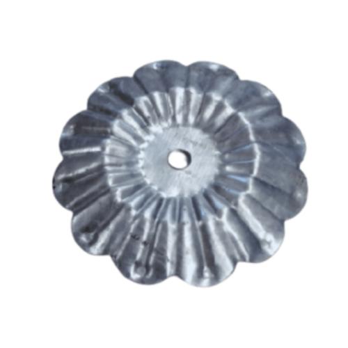 Global house ลายประกอบเหล็กดัด -วงกลมดอกทานตะวัน C-103 สีโครเมี่ยม