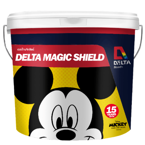 Delta เมจิคชิลด์ เบส A 3.6 ลิตร สีขาว