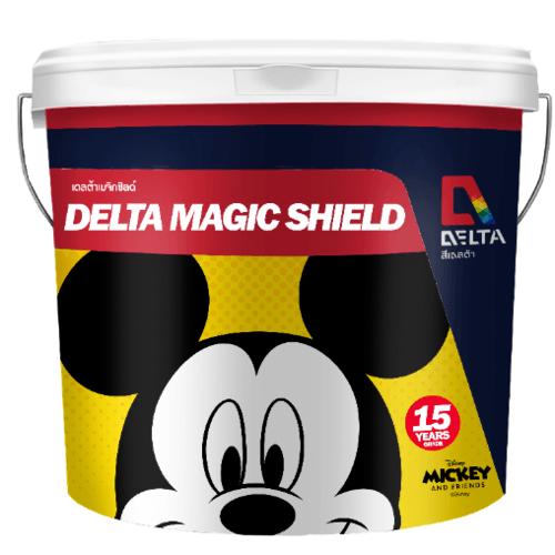 Delta เมจิคชิลด์ เบส D 9 ลิตร สีขาว
