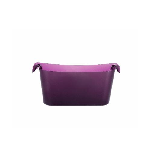 UCHI ชุดกล่องเก็บของติดผนัง A0230-PP สีม่วง