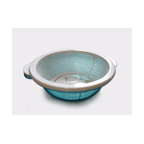 UCHI ตะแกรงพลาสติก ขนาด 30-27.5-8.5 cm KY219-BU สีฟ้า