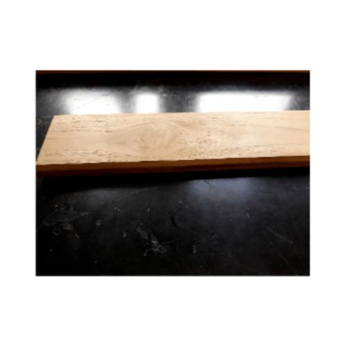SJK ฝ้าระแนงไม้สัก  5/8x4x145cm. (5แผ่น/มัด)