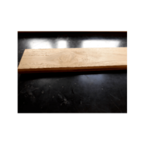 SJK ฝ้าระแนงไม้สัก 5/8 นิ้ว x4 นิ้ว x1.35ม. -