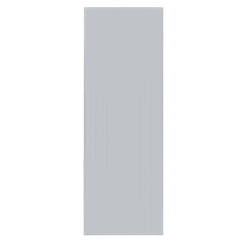 BATHIC ประตูพีวีซี บานทึบ 40x200ซม.  (ไม่เจาะ) BC1 สีเทา