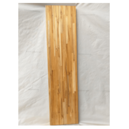 SJK สพ-ลูกบันไดไม้สักประสาน ขนาด  1.1/2x10x120ซม.  SJK12