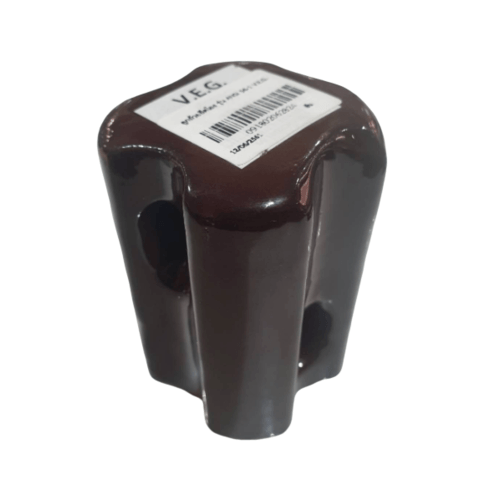 V.E.G ลูกถ้วยยึดโยง 27.5x50mm   ANSI 54-1 สีน้ำตาลเข้ม