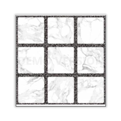 Sosuco 16x16 กระเบื้องปูพื้น ตารางหินอ่อน (6P) A. สีขาว