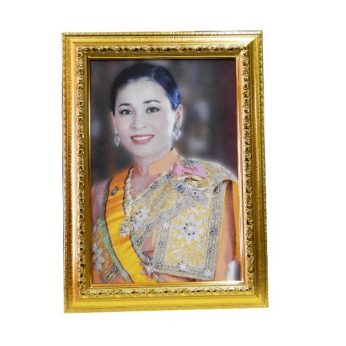 "Anchalee frame ภาพราชินี ของร.10  A28 ขนาด10""x15"""