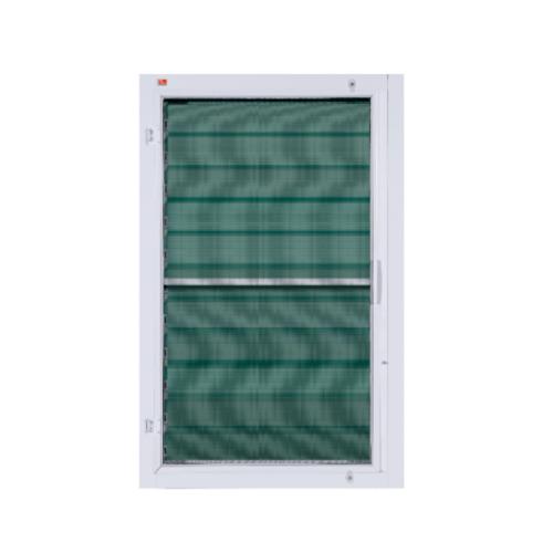 A-Plus หน้าต่างบานเกล็ด ขนาด 0.70x1.10m. A-WO/006 +มุ้ง สีขาว