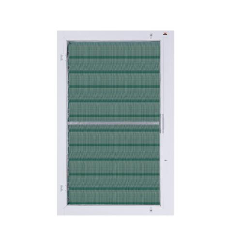 A-Plus หน้าต่างบานเกล็ด ขนาด 0.70m.x1.10m.  A-P/007 (พร้อมมุ้ง) สีขาว