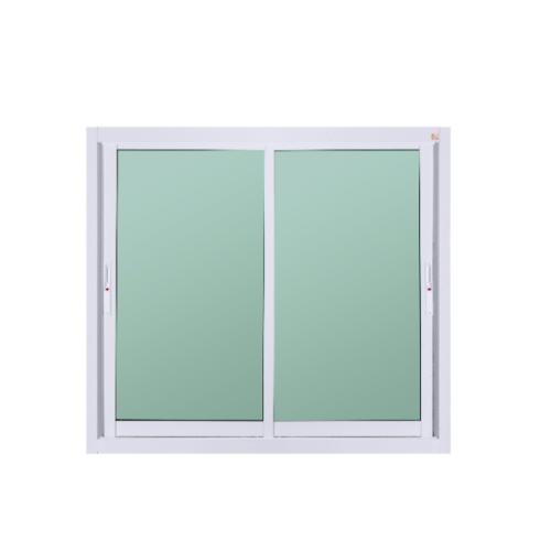 A-Plus หน้าต่างอลูมิเนียมบานเลื่อน SS ขนาด 1.20 x 1.08 ม. Like-006  ไม่มีมุ้ง  สีขาว