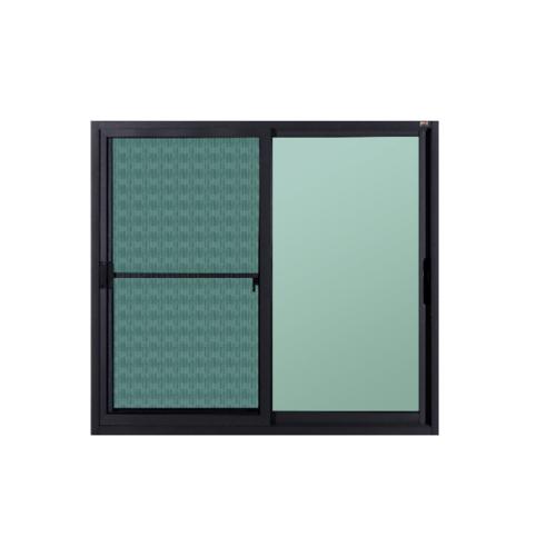 A-Plus หน้าต่างบานเลื่อน ขนาด  120x110 cm. SR-001 เทา