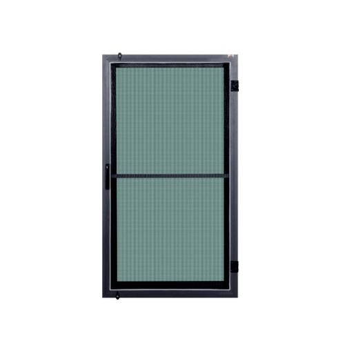 A-Plus หน้าต่างบานเปิดเดี่ยว ขนาด 60 x 110  cm. SAHARA เทา
