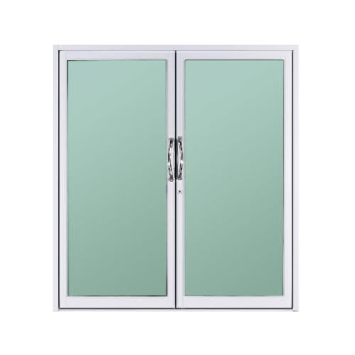 A-Plus ประตูบานสวิงคู่ ขนาด 190x205 cm. A-DO/011 ขาว