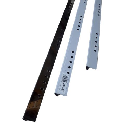 Wellingtan คิ้วโค้งสเตนเลสสตีล 304 สูง 10 มม. หนา 0.6 มม. SR003-10