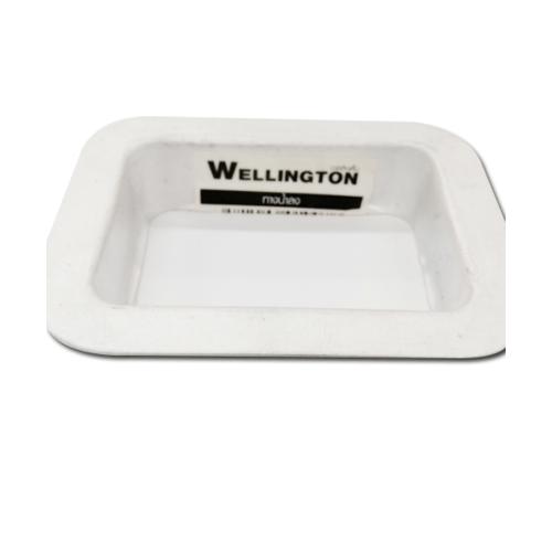 Wellingtan ทางลงน้ำ ต่อรางอลูมิเนียม P33AY21 สีขาว