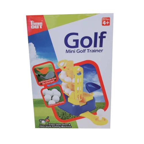Sanook&Toys เครื่องขว้างลูกกอล์ฟ QC101 สีเหลือง