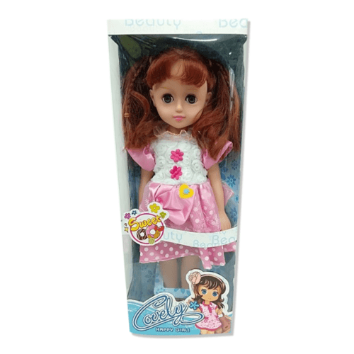 Sanook&Toys ตุ๊กตาผู้หญิง 293835 สีชมพู