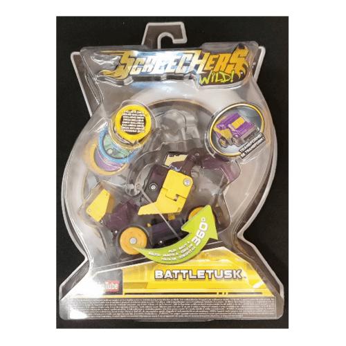 Sanook&Toys  ยานพาหนะ Lvl 2 Battletusk  EU683225 สีม่วง