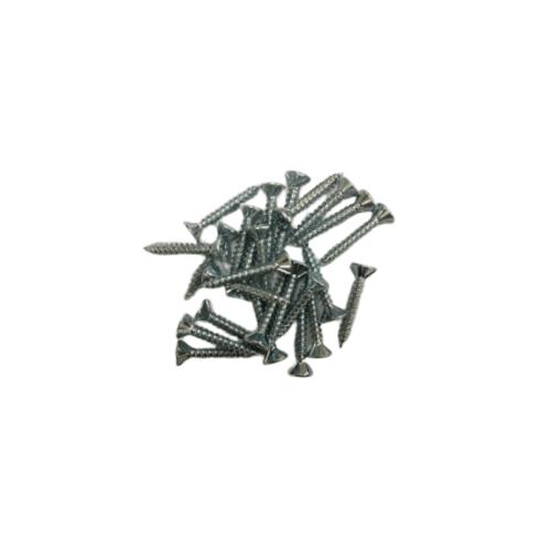 FIX-XY สกรูยิงไม้ฝาปลายแหลม  23 มม.(25pcs/bag) สีโครเมี่ยม