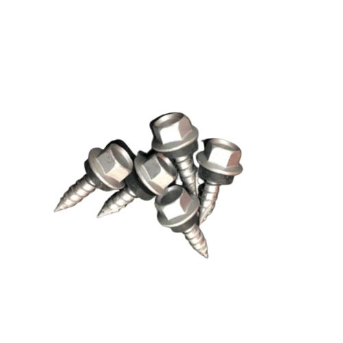 FIX-XY สกรูยิงเมทัลชีท ขนาด#10-11ยาว20 มม. (25pcs/bag) สีขาว