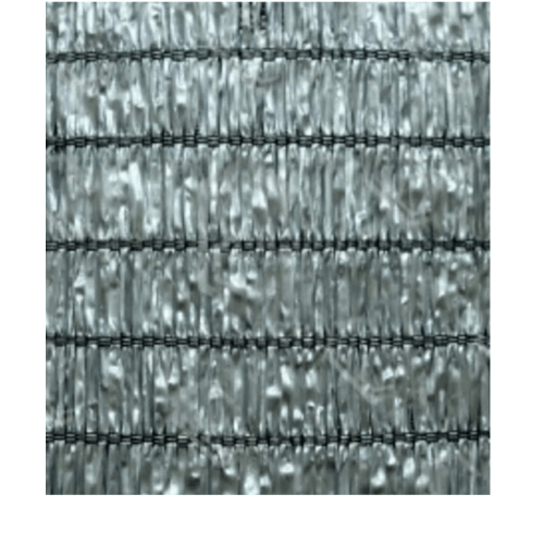 POLLO สแลนท์ HDPE 80% ขนาด 2x50 M สีเทา LP-016 สีเทา