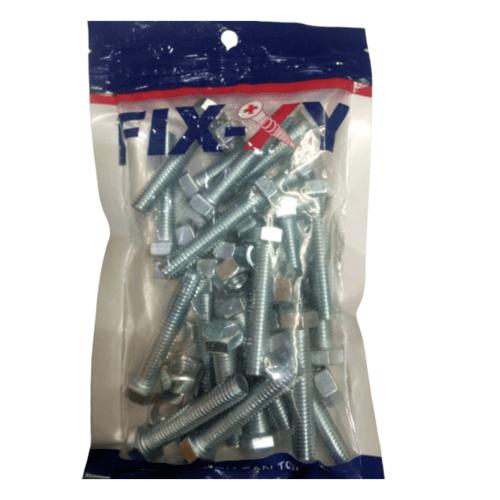 FIX-XY สกรูเกลียวมิล 3/8x2  (20ชิ้น/แพ็ค)  EF-020