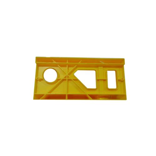HUMMER แท่นองศาตัดไม้ ขนาด 30x14x7cm. SSN45 สีเหลือง