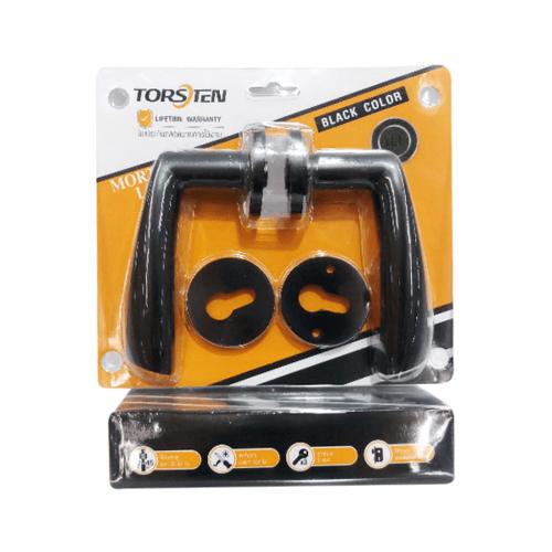 TORSTEN ชุดมือจับก้านโยกห้องทั่วไป PQS-C15/18 สีดำ