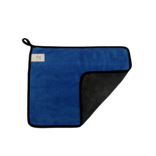 COZY ผ้าเช็ดอเนกประสงค์ 30x40ซม.สีฟ้า-เทา   GTL009-GRBL