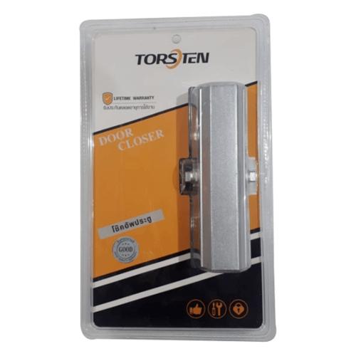 TORSTEN โช๊คอัพประตู 40-75 กก. PQS-BX332 สีเงิน