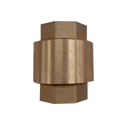 VAVO เช็ควาล์วสปริงทองเหลือง   1/2 นิ้ว  YF-4054-1