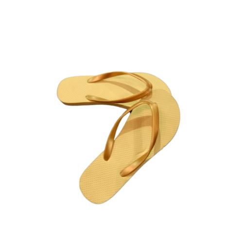 PRIMO รองเท้าแตะยางพารา เบอร์ 37-38 LR005 สีครีม