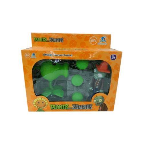 Sanook&Toys กล่องของขวัญPlants vs. Zombies  8.5*23.5*16.5cm 668-1 สีเขียว