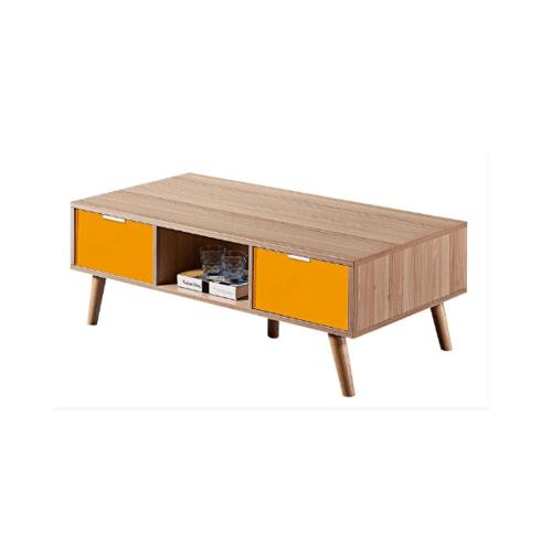 Local โต๊ะกลาง 60x120x4 CM. 1206-YL สีเหลือง-ไม้ สีเหลือง
