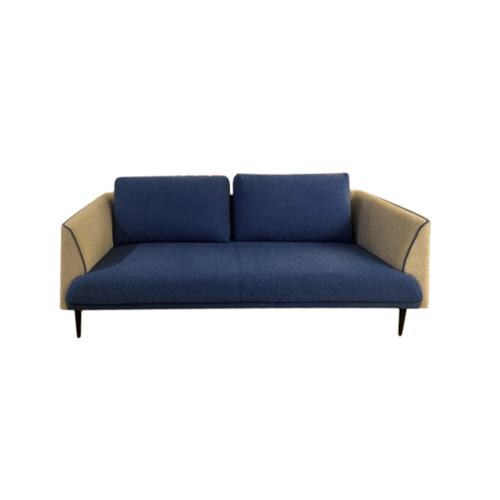 Local  โซฟา 3ที่นั่งพร้อมหมอนอิง  81x186x84cm. JF017-3   สีน้ำเงิน