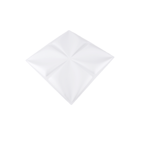 TAPIO วอลเปเปอร์ พีวีซี 3D ขนาด 50x50cm  PQS-RZ006-1 สีขาว