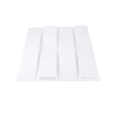 TAPIO วอลเปเปอร์ พีวีซี 3D ขนาด 50x50cm  PQS-RZ013  สีขาว