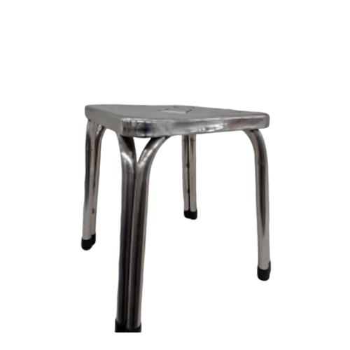 Sane เก้าอี้สเตนเลสทรงเหลี่ยม 25ซม. PQS-FD25
