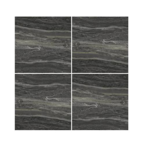 Marbella 80x80 ลาวา-ดาร์คเกรย์  P8001 GT (3P) A. สีดำ